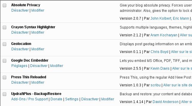 Some useful plugins