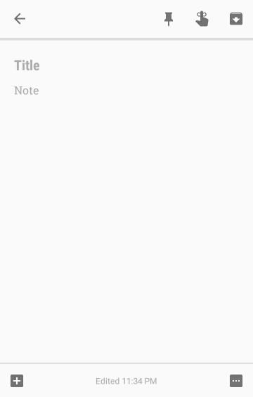 Notes in Google Keep - Mickaël's blog